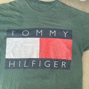 Vintage Tommy Hilfiger big flag